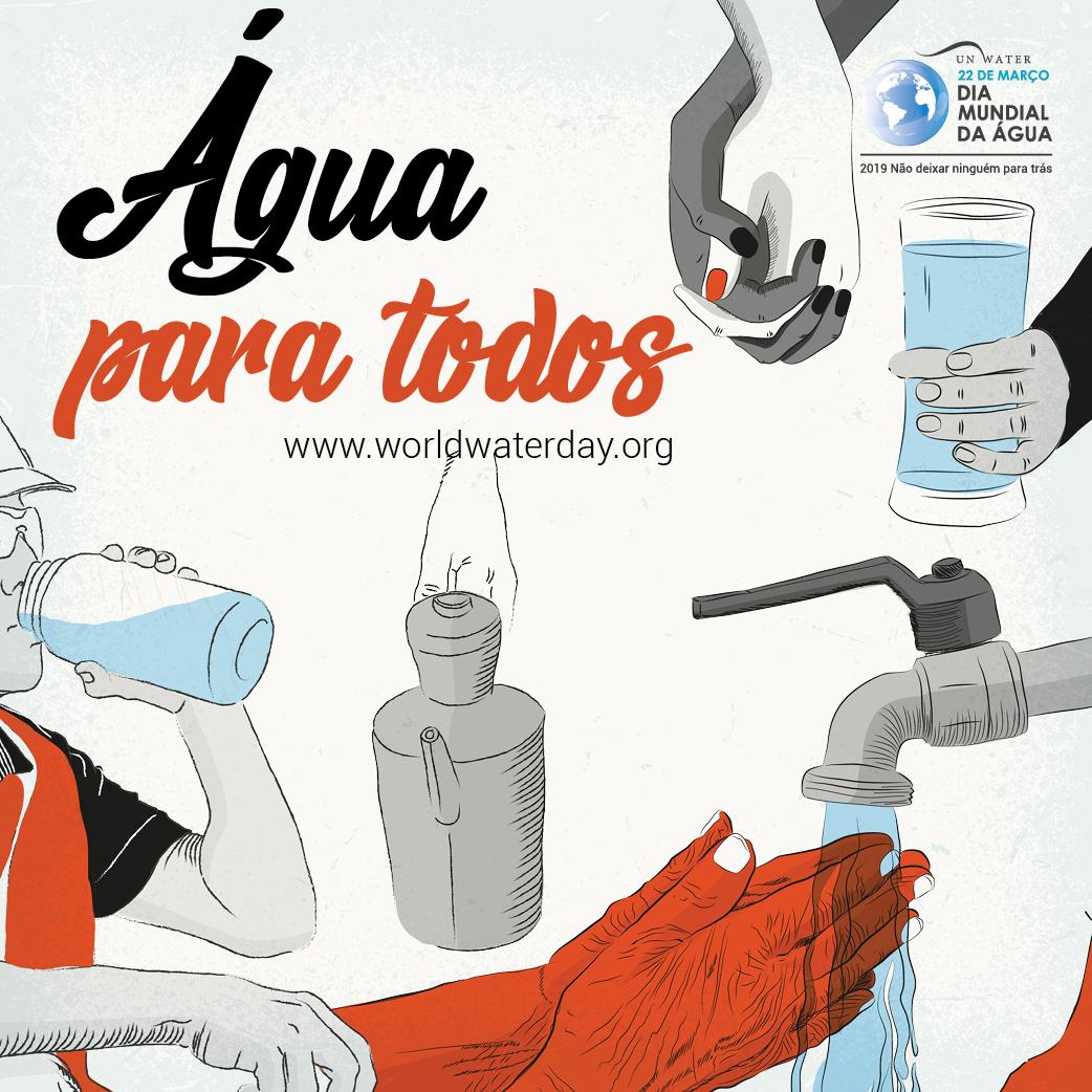 Hoje (22 de março) é o Dia Mundial da Água