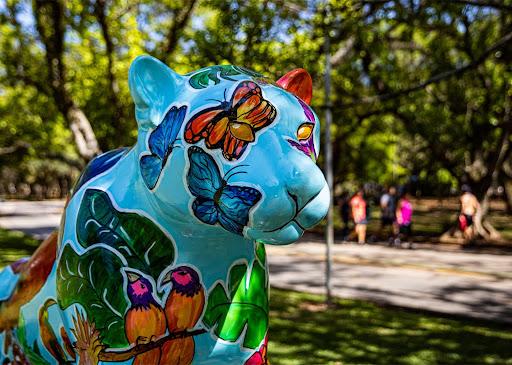 A arte da conservação: Jaguar Parade